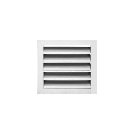 Weather Louver without bird screen