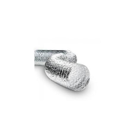 Aluminium Plain Flexible Ducts - All prices inclusive of VAT.