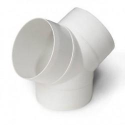 Plastic Round Y Piece
