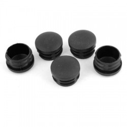 Plastic End Cap Black 41x41mm