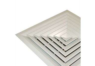 DIFFUSERS, LOUVERS, GRILLES & GRILLE BOXES