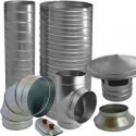 •Spiral Ducting & Fittings