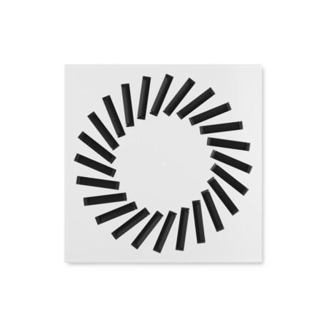Swirl Diffuser, 595mm x 595mm, 24 Slots