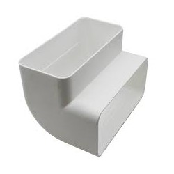 Plastic Square Duct  2m Length