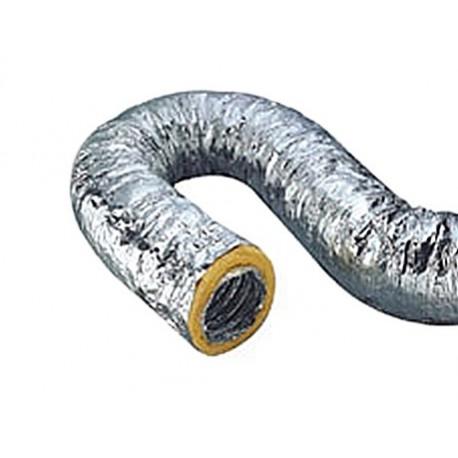 Aluminium Pre Insulated Flexible Duct 100x7m