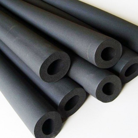 Rubber Pipe Insulation. Wall Thickness- 9mm